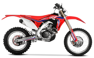 RED MOTO CRF 450RX ENDURO 2018