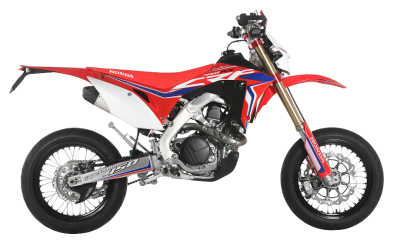 RED MOTO CRF 450RX SUPERMOTO 2018