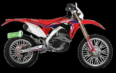 RED MOTO CRF 200R ENDURO 2018