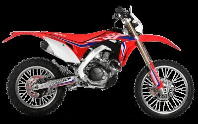 RED MOTO CRF 450RX ENDURO 2018