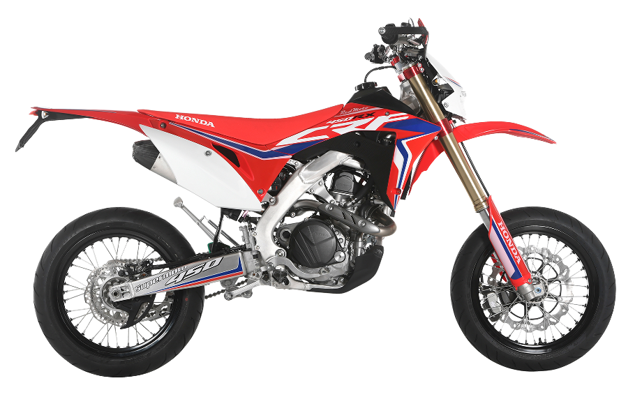 Red Moto Crf 450rx Supermoto 2018 Hm Racing